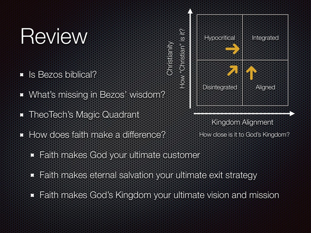 Review Is Bezos biblical? What's missing in Bez...