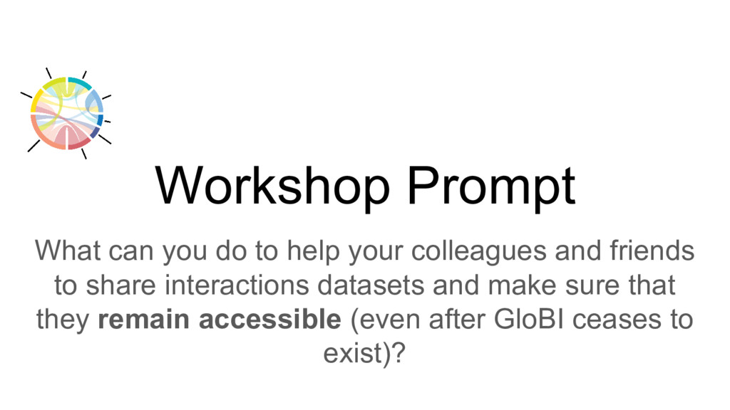 Workshop Prompt What can you do to help your co...