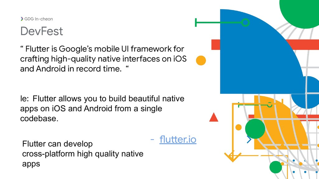 "In-cheon "" Flutter is Google's mobile UI framew..."