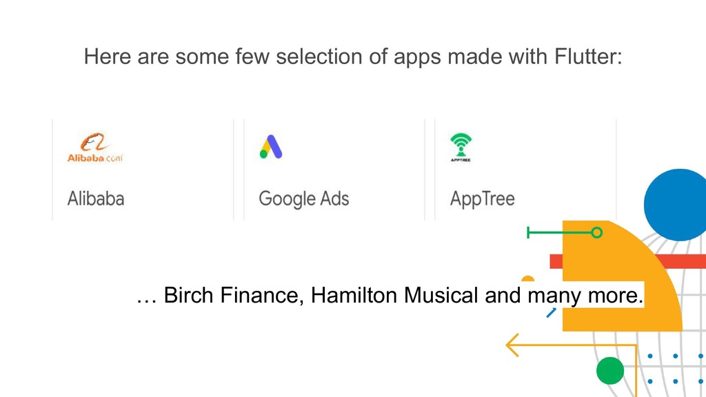 Here are some few selection of apps made with F...