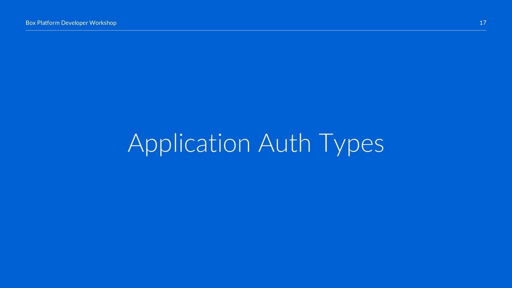 17 Box Platform Developer Workshop Application ...
