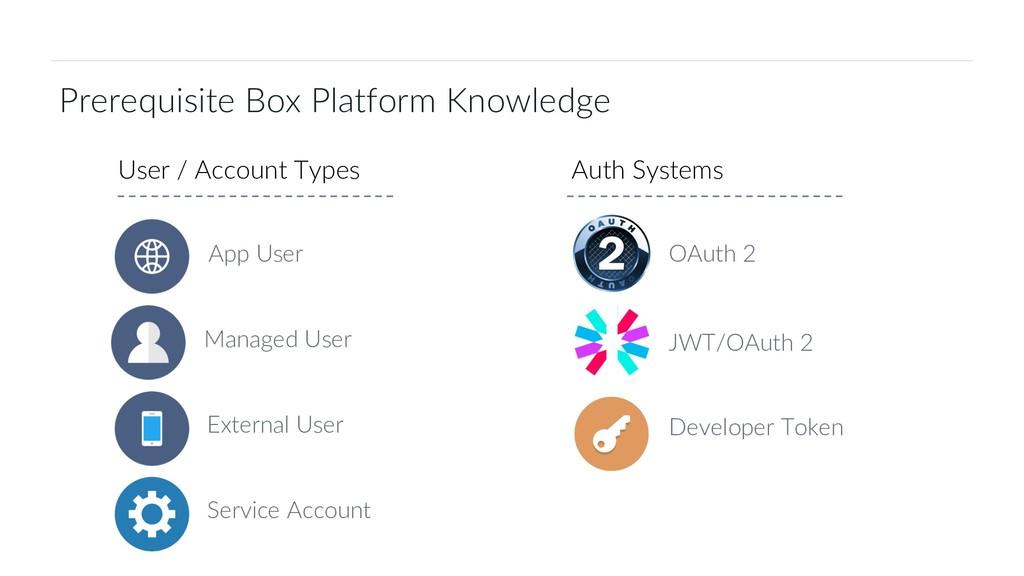 4 Box Platform Developer Workshop Prerequisite ...