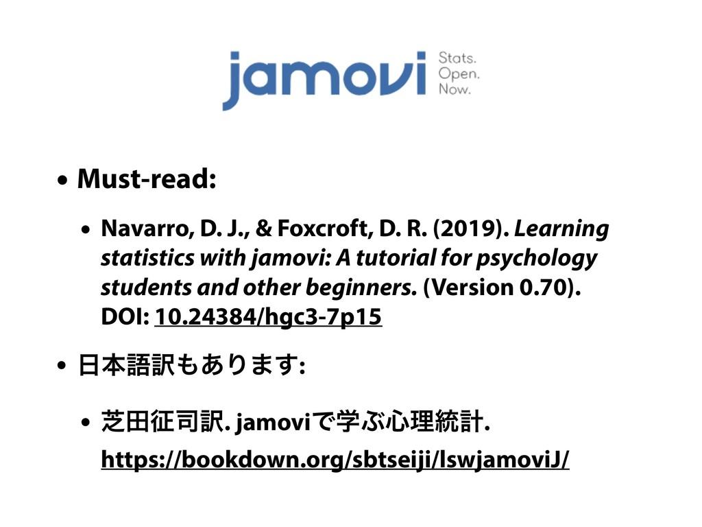 • Must-read: • Navarro, D. J., & Foxcroft, D. R...