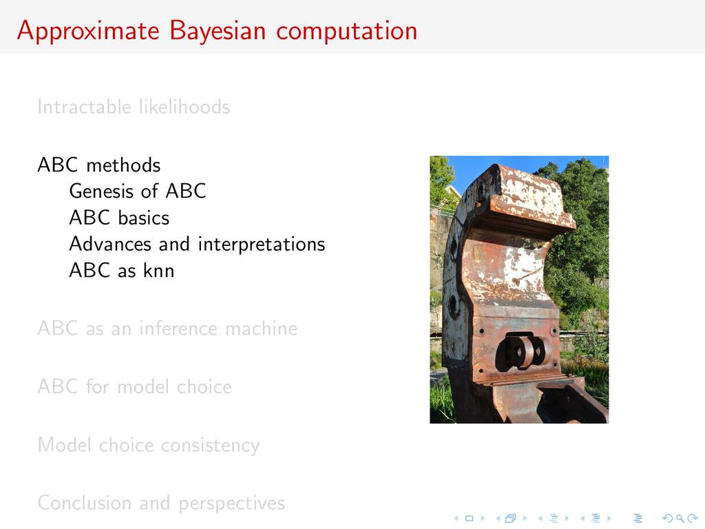 Approximate Bayesian computation Intractable li...