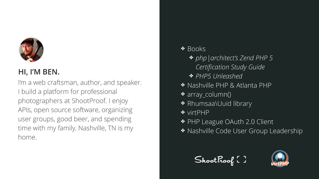 I'm a web craftsman, author, and speaker. I bui...
