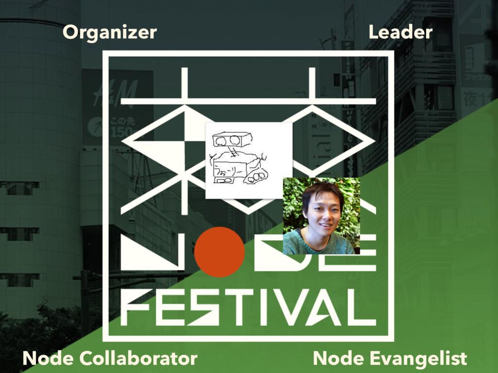 Organizer Leader Node Collaborator Node Evangel...