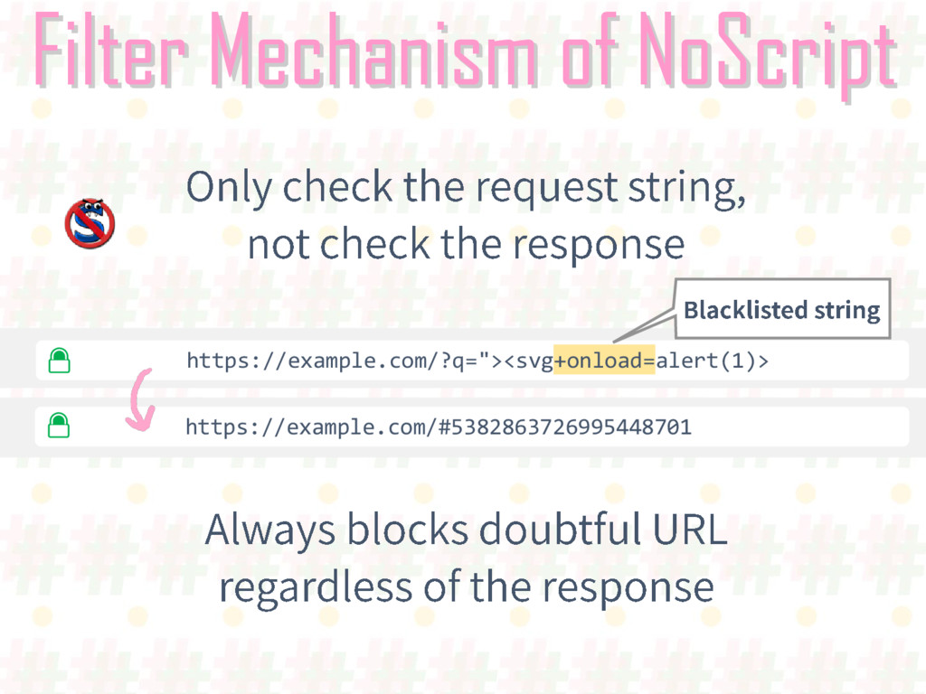 Filter Mechanism of NoScript https://example.co...