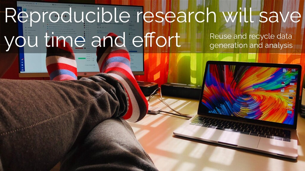 Reproducible research will save you time and eff...