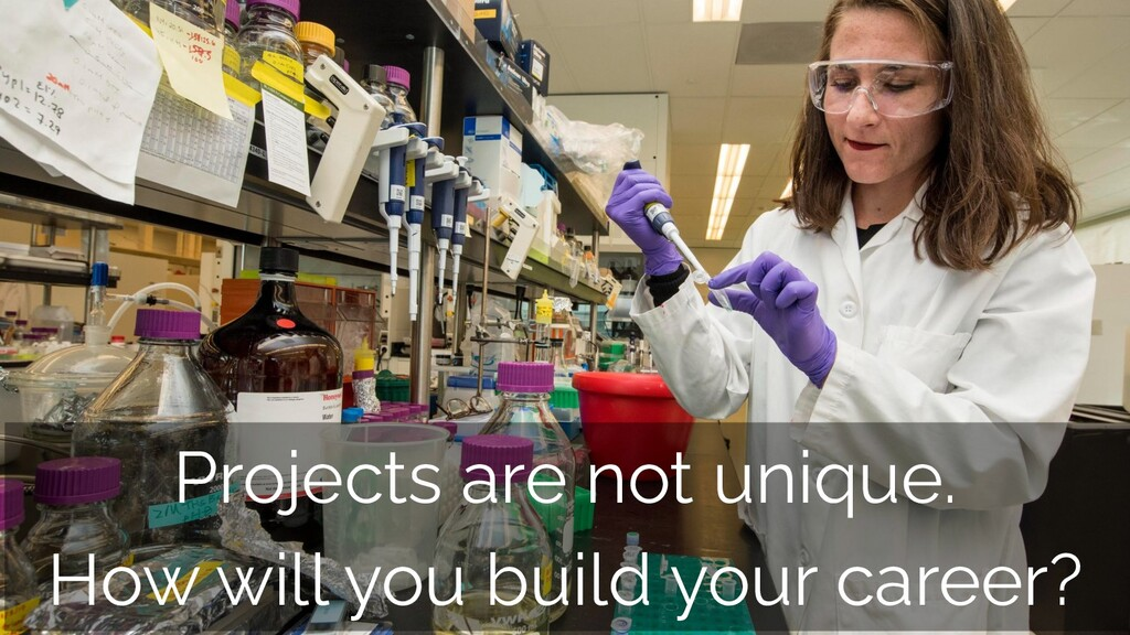 Projects are not unique. How will you build you...