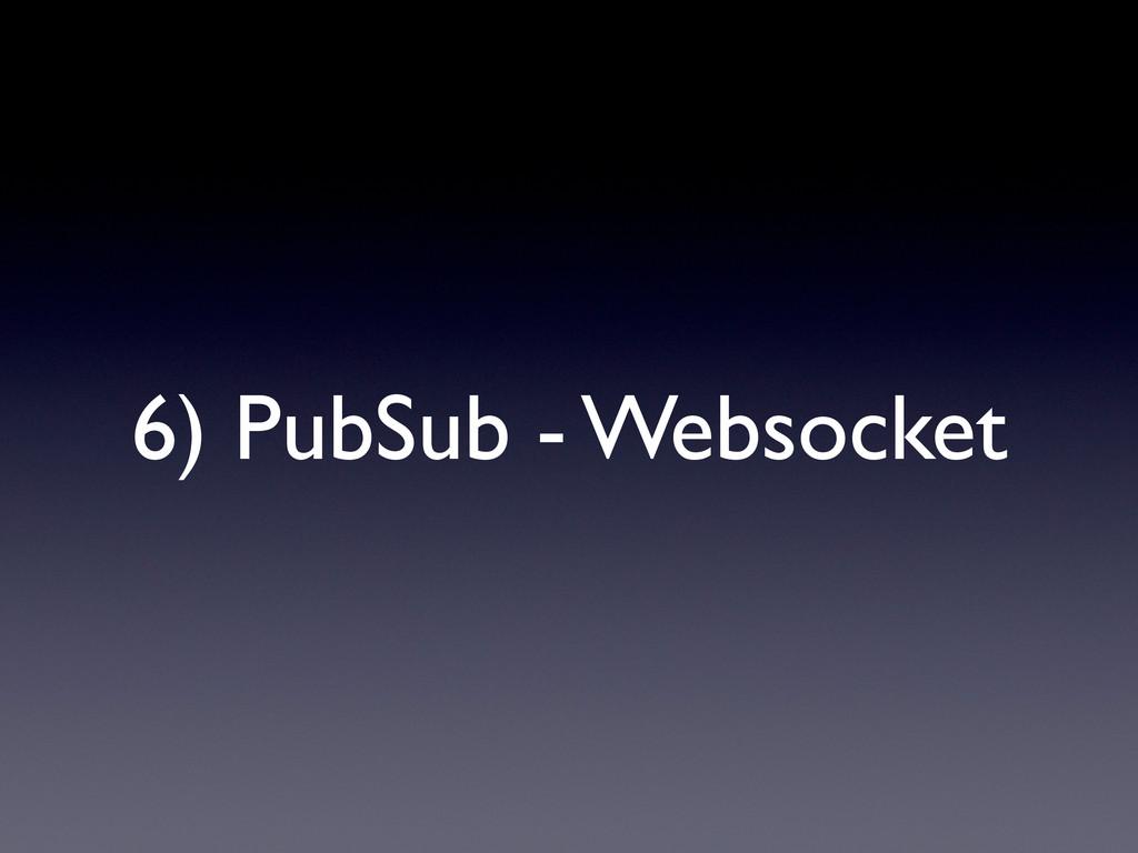 6) PubSub - Websocket