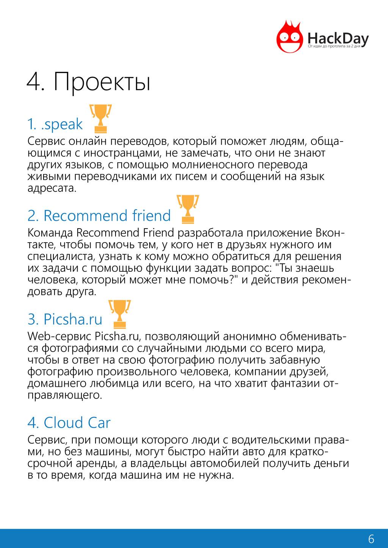 4. Проекты 1. .speak Сервис онлайн переводов, к...