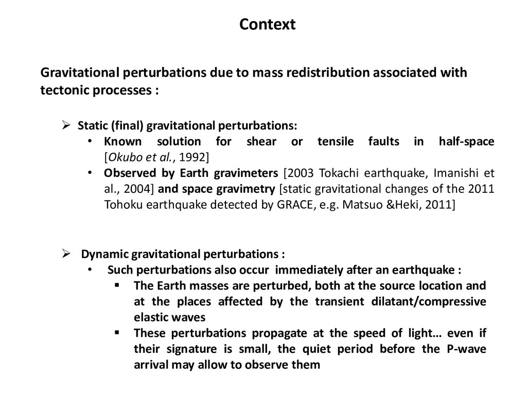 Gravitational perturbations due to mass redistr...