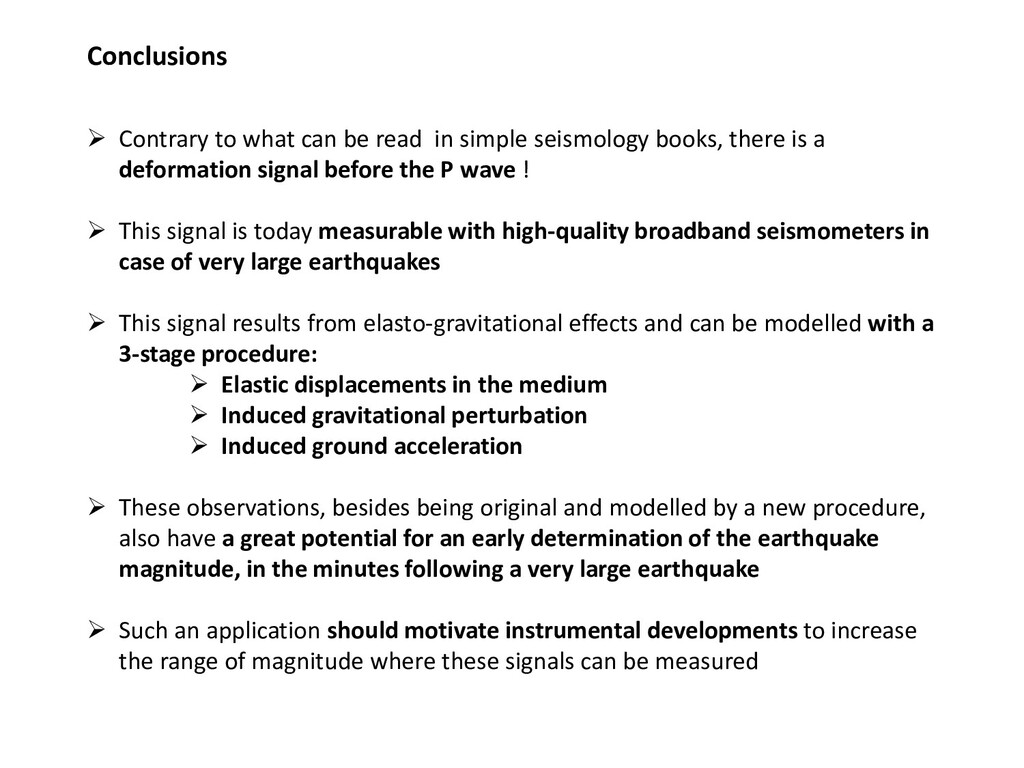 Conclusions  Contrary to what can be read in s...