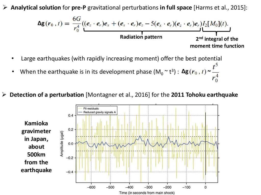  Detection of a perturbation [Montagner et al....