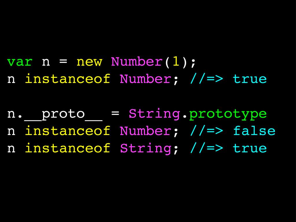 var n = new Number(1); n instanceof Number; //=...