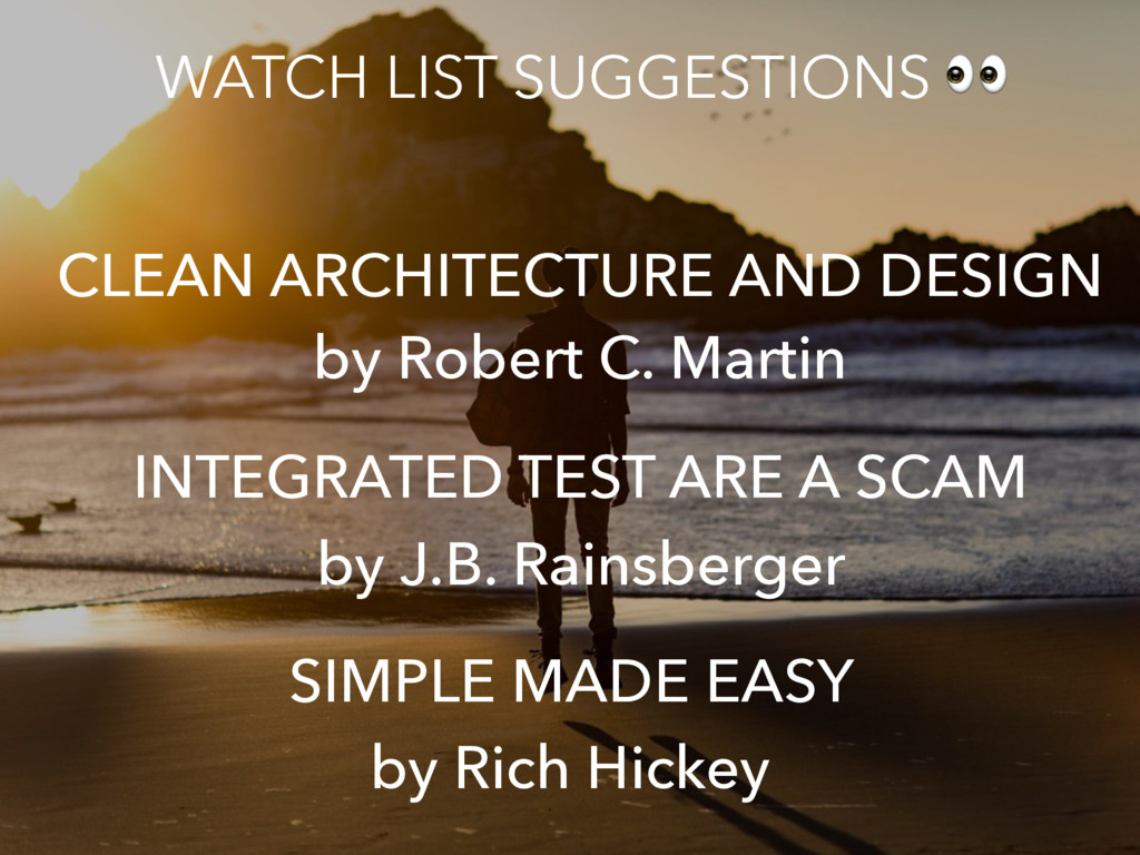 INTEGRATED TEST ARE A SCAM by J.B. Rainsberger ...