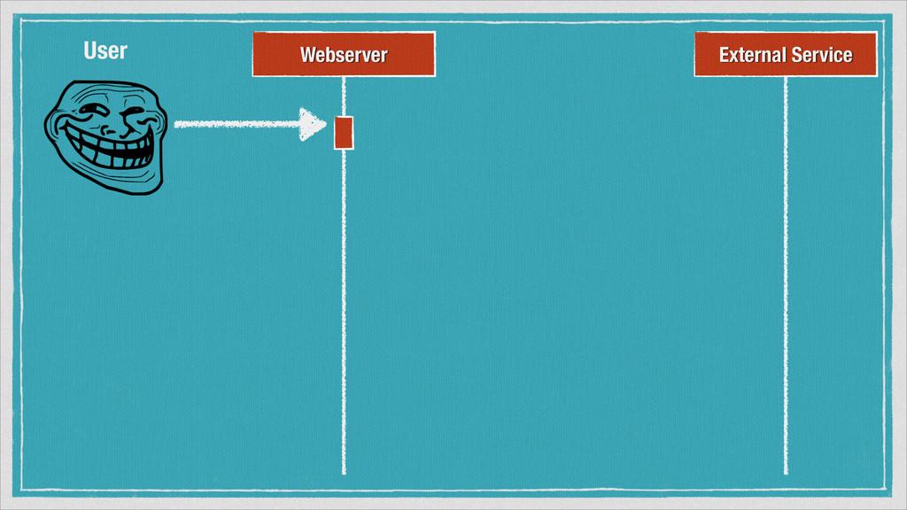 Webserver External Service User