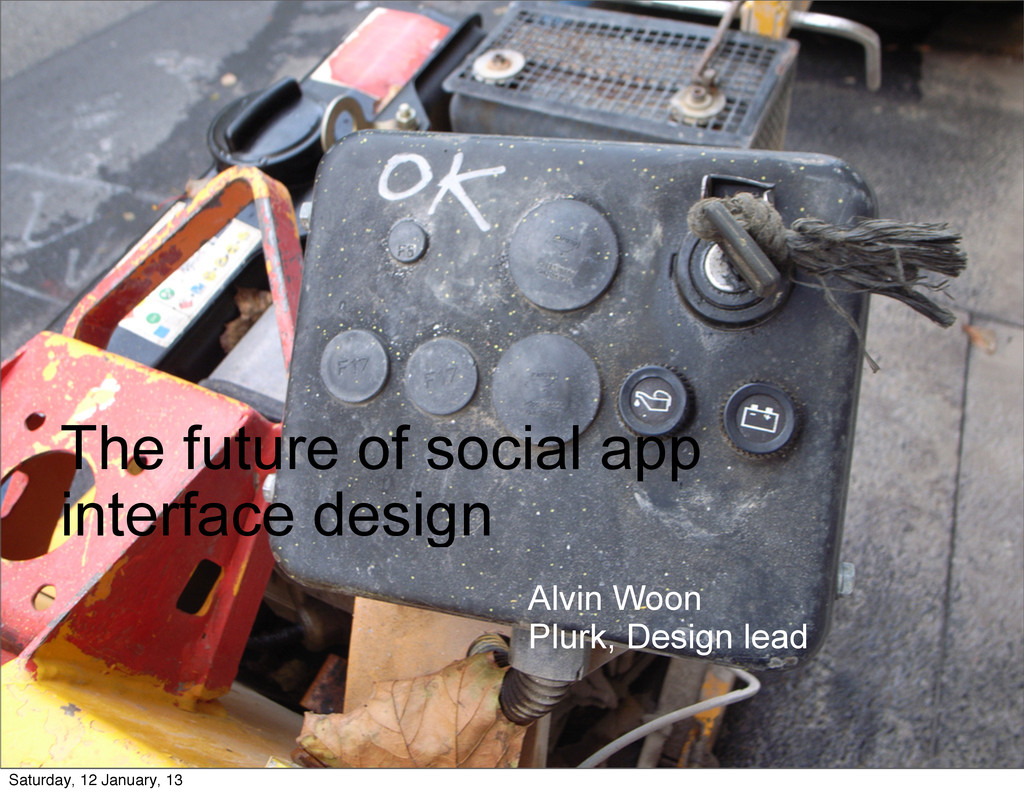 The future of social app interface design Alvin...