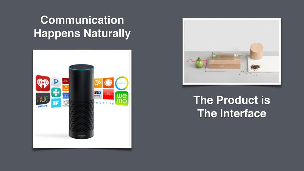 The Product is The Interface Communication Happ...
