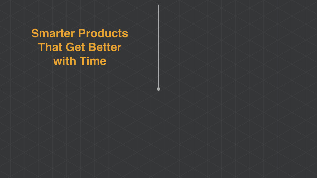 Smarter Products That Get Better with Time
