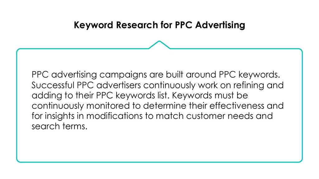 Keyword Research for PPC Advertising PPC advert...