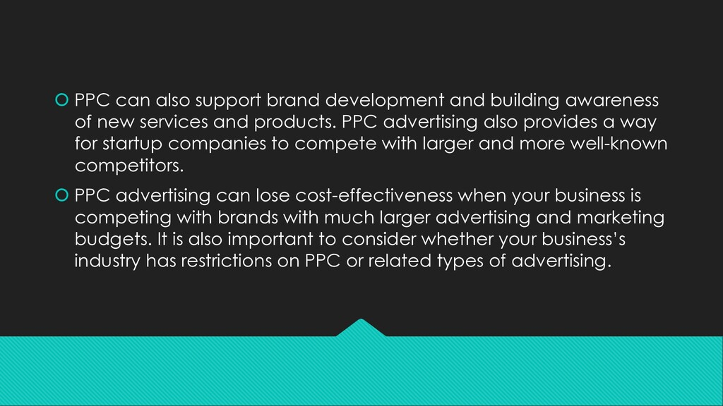 š PPC can also support brand development and bu...