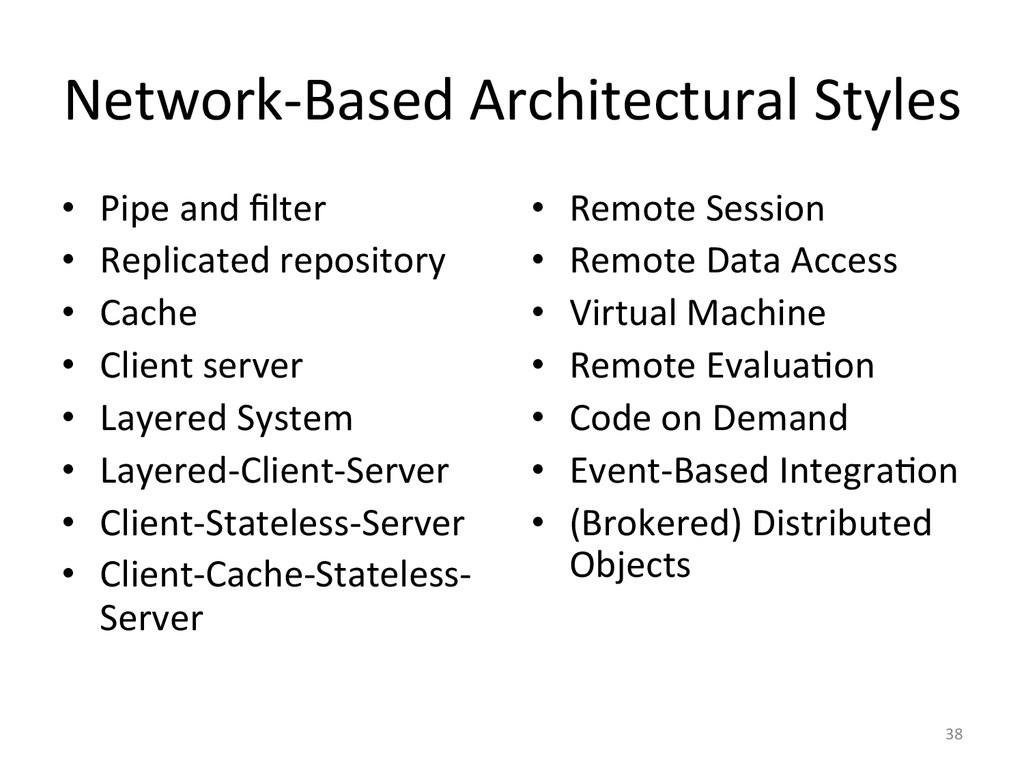 Network-‐Based Architectural Styles  ...