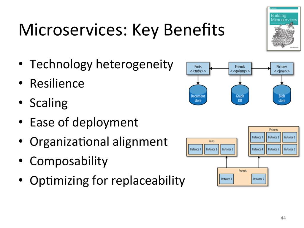Microservices: Key Benefits  • Technol...