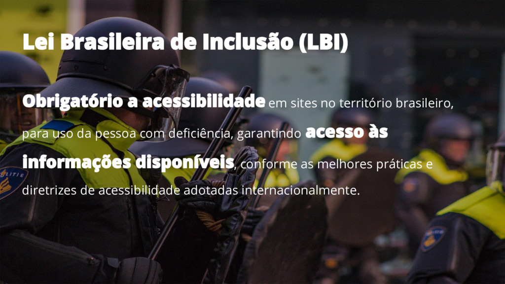 em sites no território brasileiro, para uso da ...