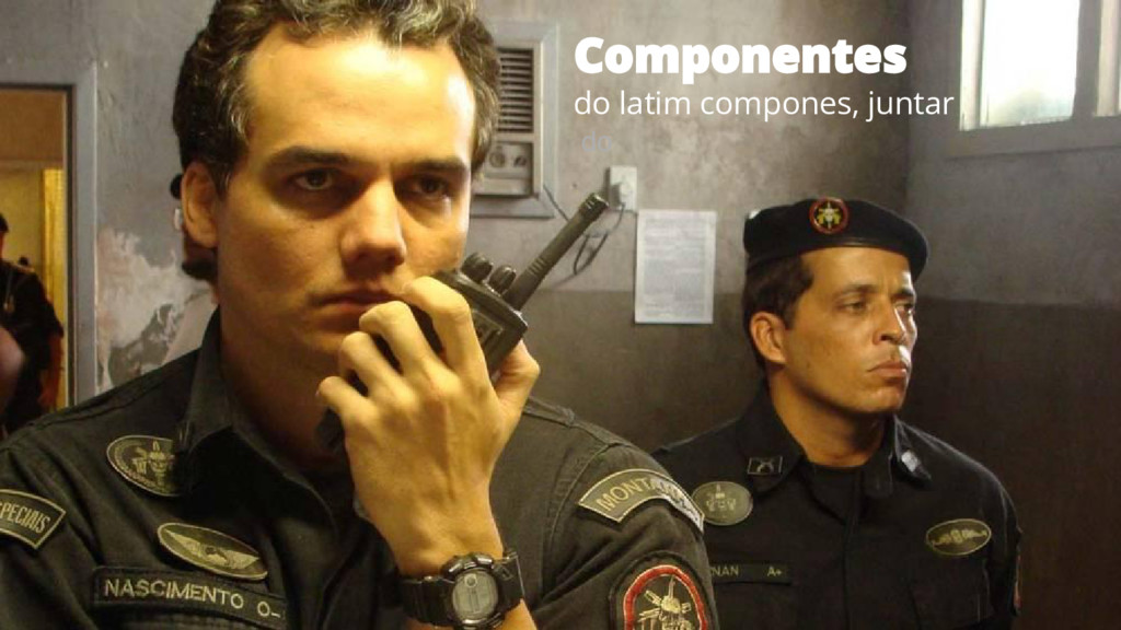 do latim compones, juntar do