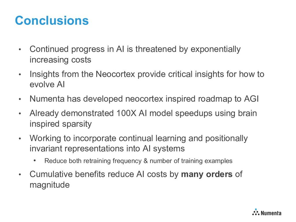 Conclusions • Continued progress in AI is threa...