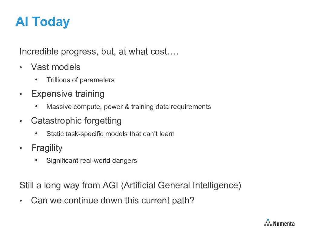AI Today Incredible progress, but, at what cost...