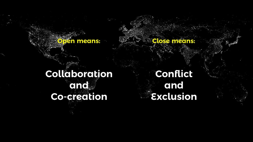 Collaboration and Co-creation Conflict and Excl...