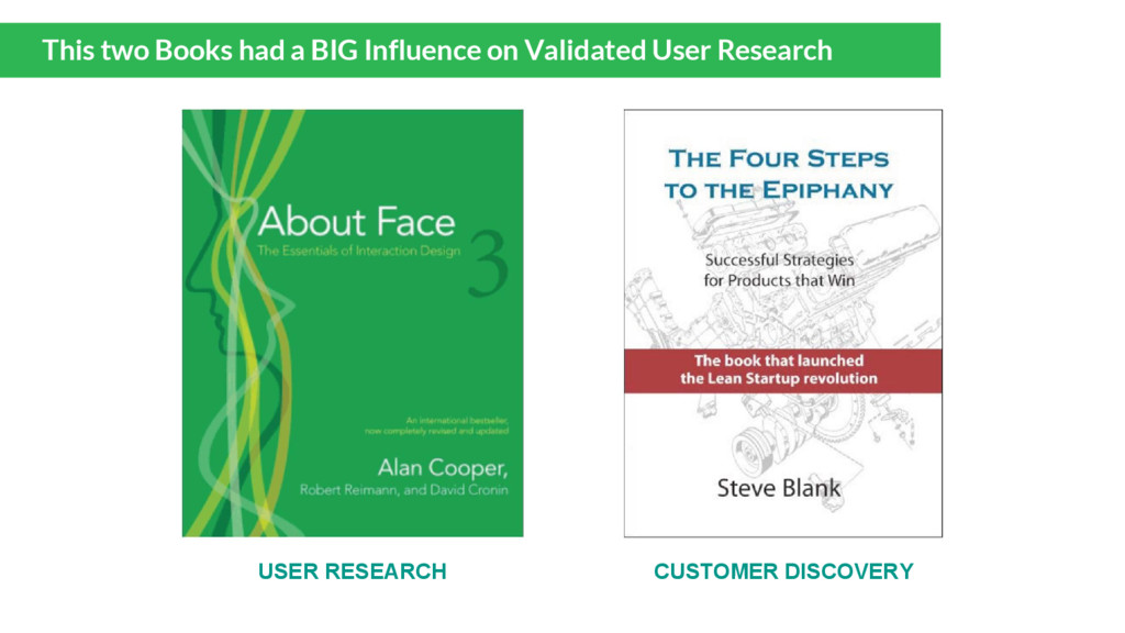 This two Books had a BIG Influence on Validated...