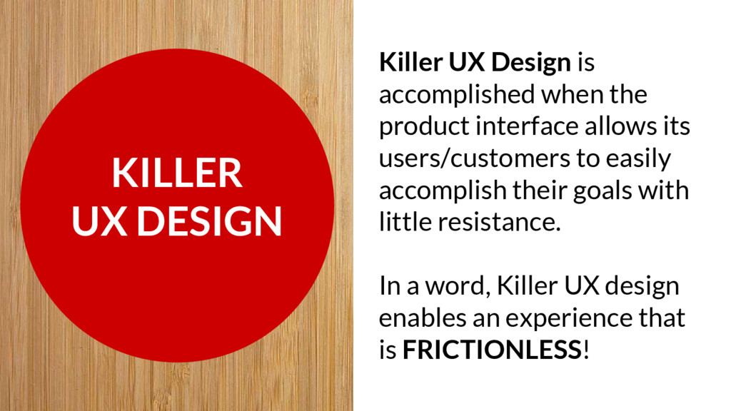 KILLER UX DESIGN Killer UX Design is accomplish...