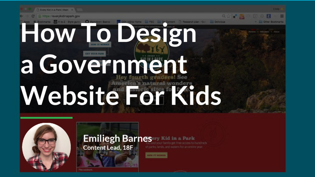 How To Design a Government Website For Kids Emi...