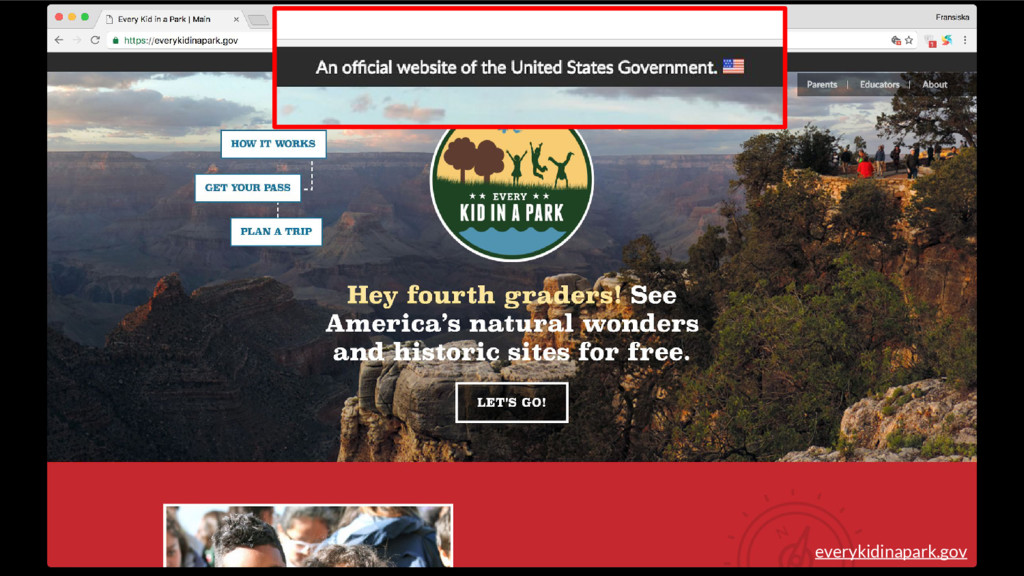 everykidinapark.gov