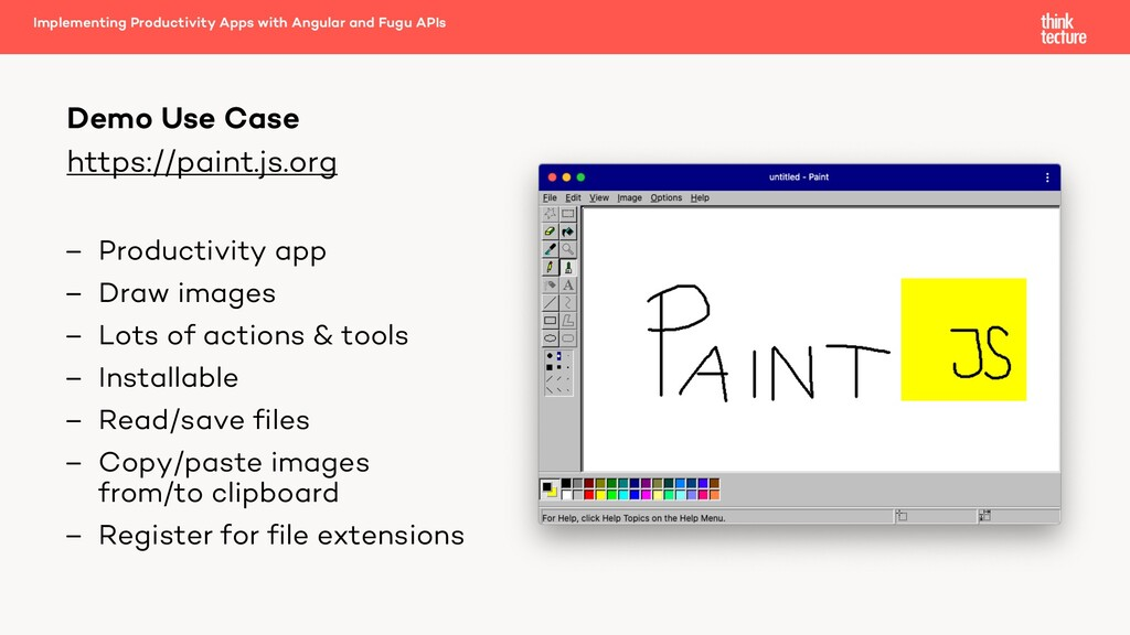 https://paint.js.org – Productivity app – Draw ...
