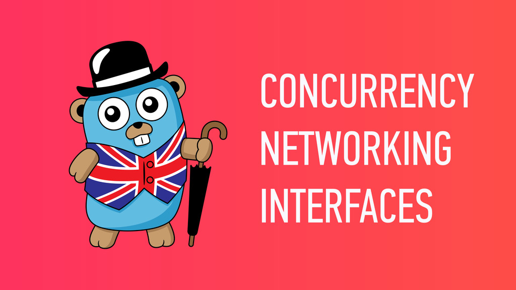 CONCURRENCY NETWORKING INTERFACES