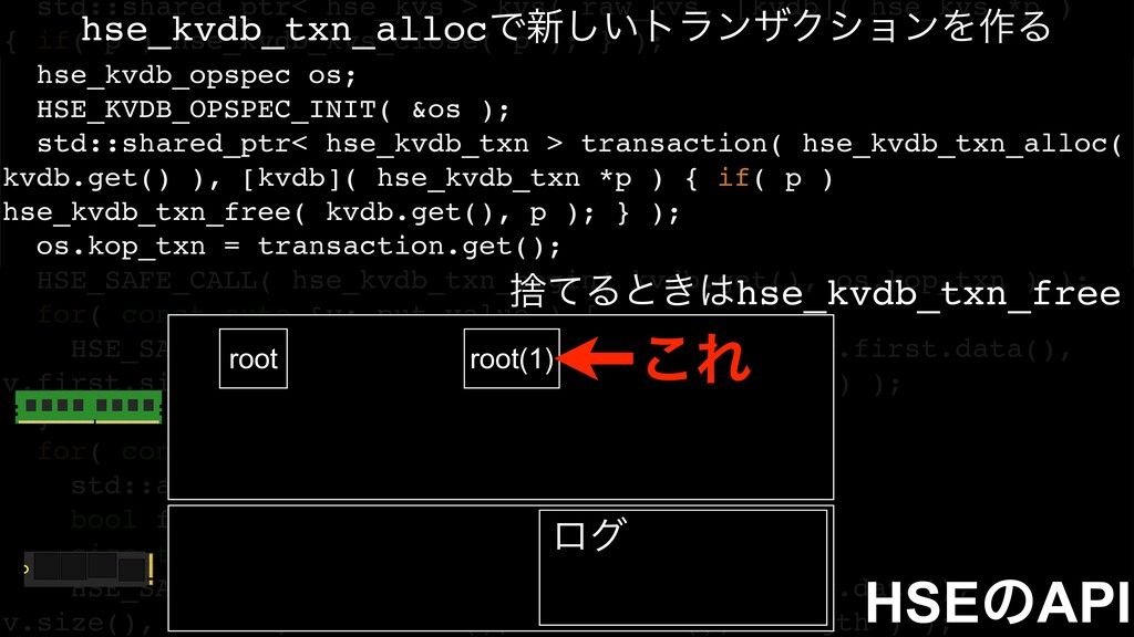 std::shared_ptr< hse_kvs > kvs( raw_kvs, [kvdb]...
