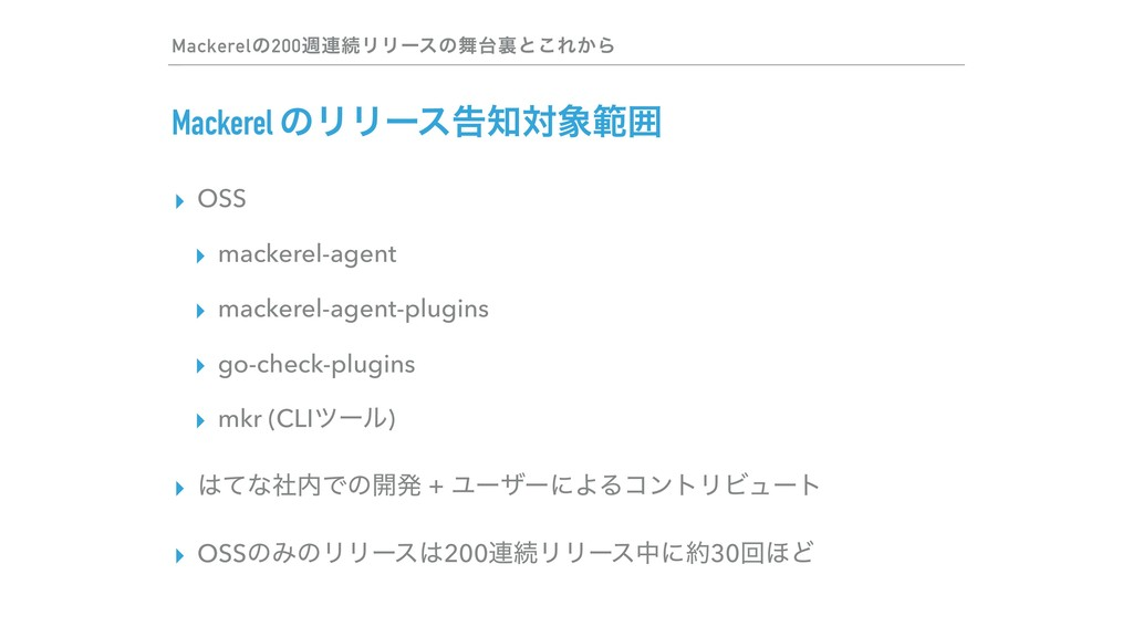 ▸ OSS ▸ mackerel-agent ▸ mackerel-agent-plugins...
