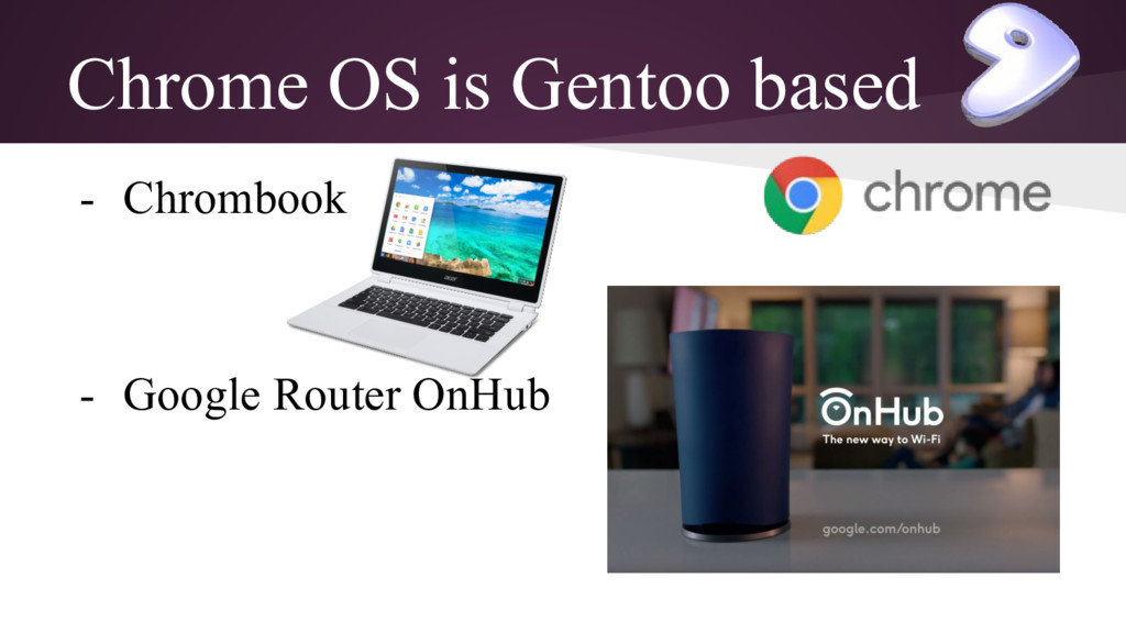 Chrome OS is Gentoo based - Chrombook - Google ...