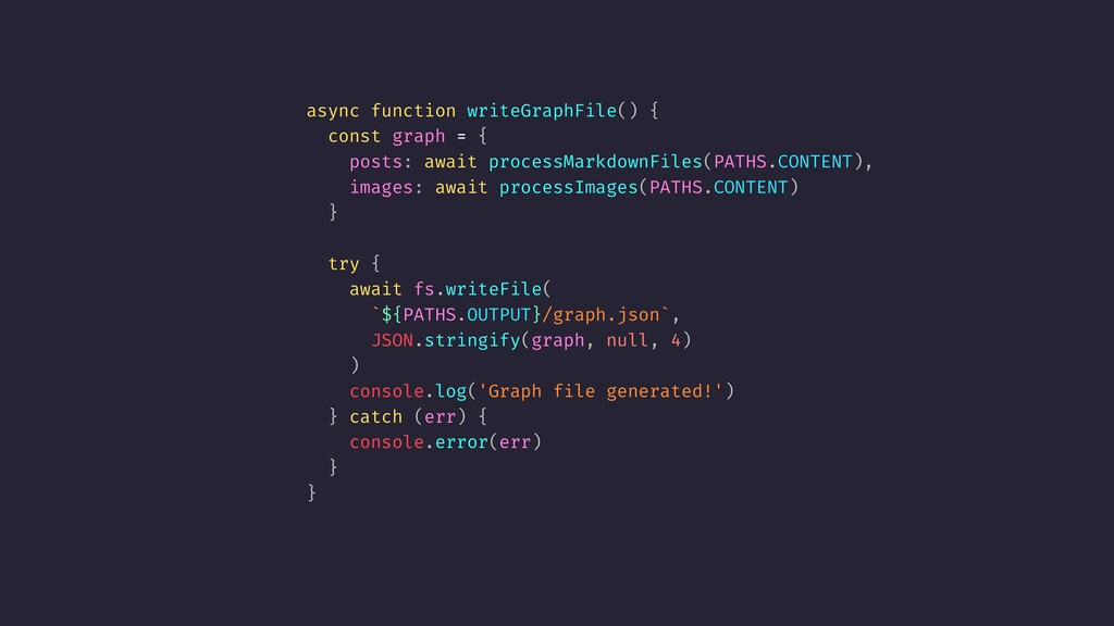 async function writeGraphFile() { const graph =...