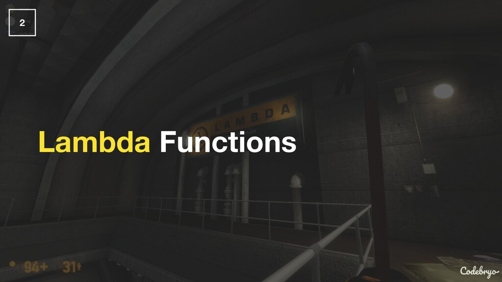 Lambda Functions 2
