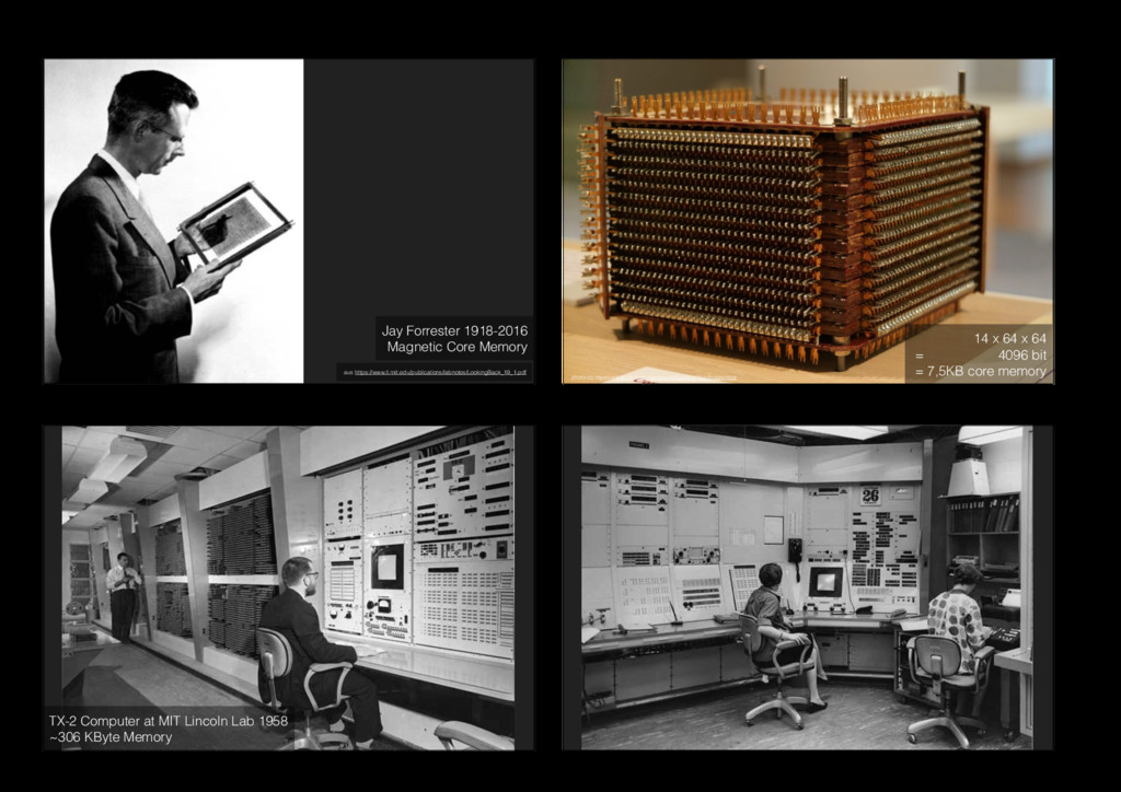 Jay Forrester 1918-2016 Magnetic Core Memory a...