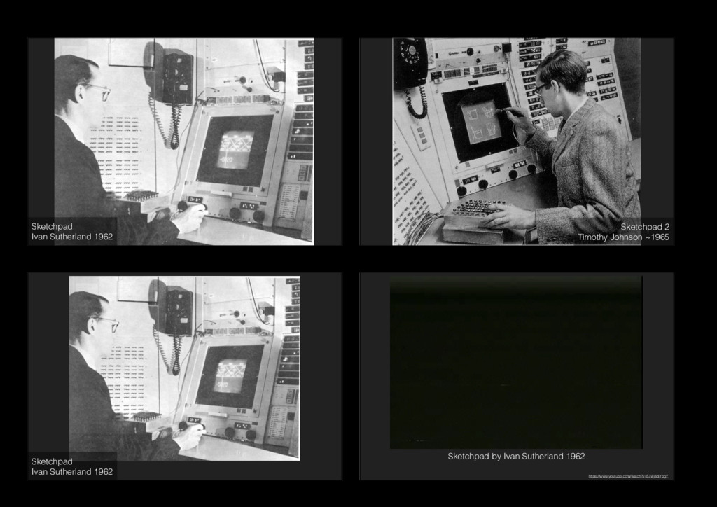 Sketchpad Ivan Sutherland 1962 Sketchpad 2 Ti...