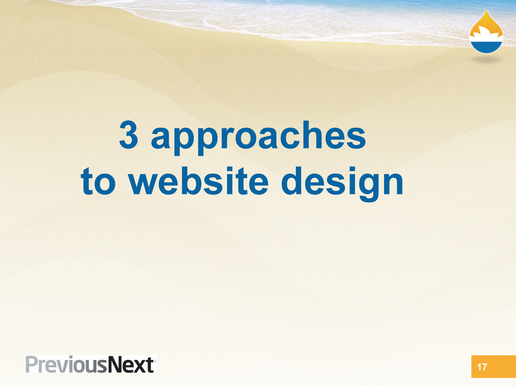 3 approaches to website design 17