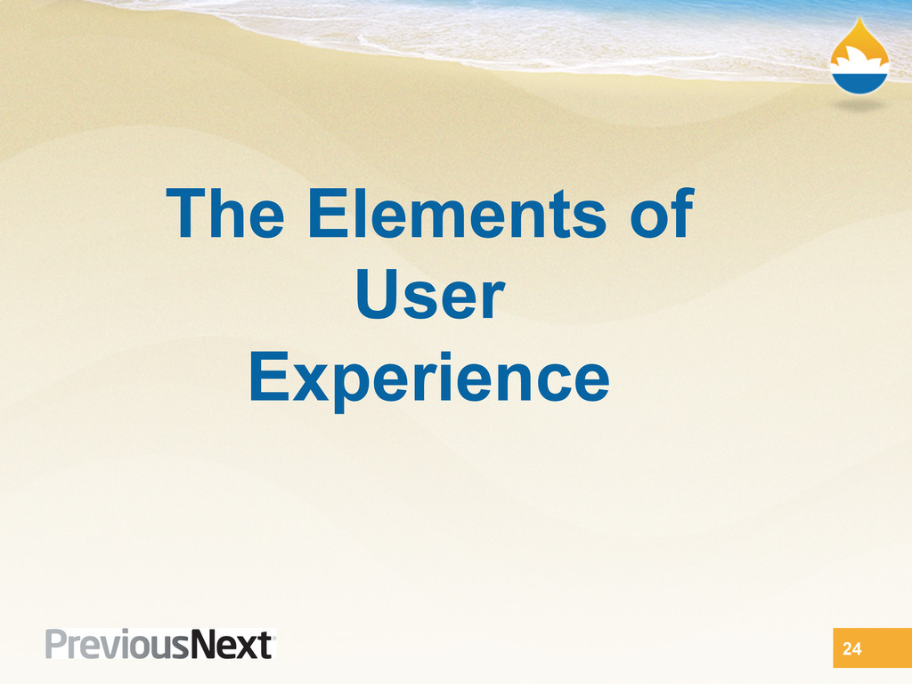 The Elements of User Experience 24