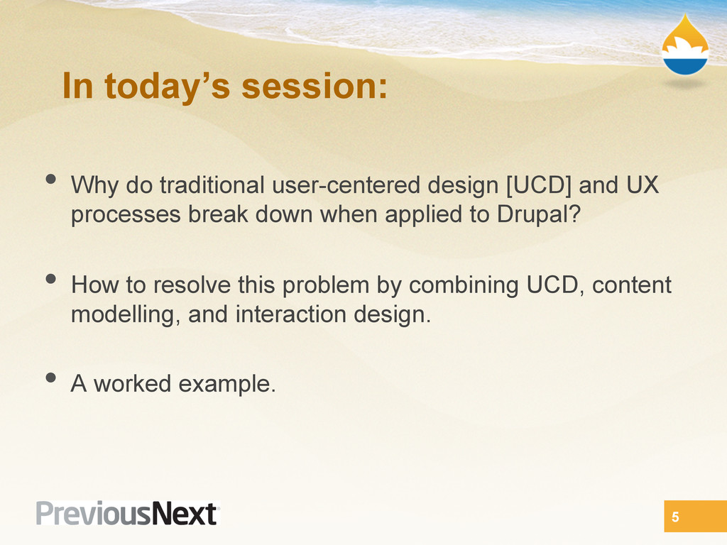 In today's session: •  Why do traditional user-...
