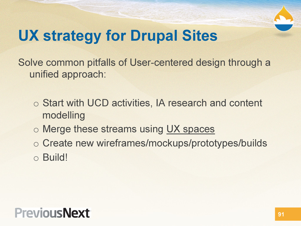 UX strategy for Drupal Sites Solve common pitfa...